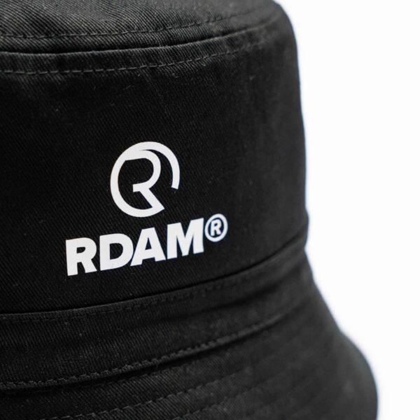 rdam rotterdam bucket hat zwart