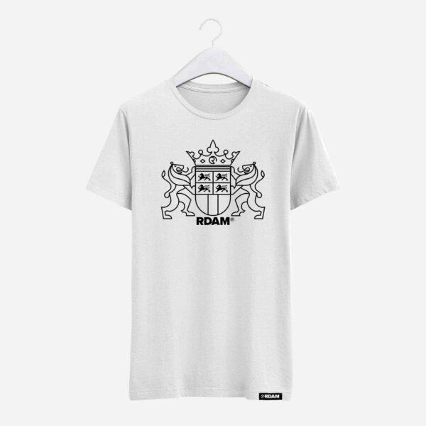 rotterdam stadswapen op wit shirt