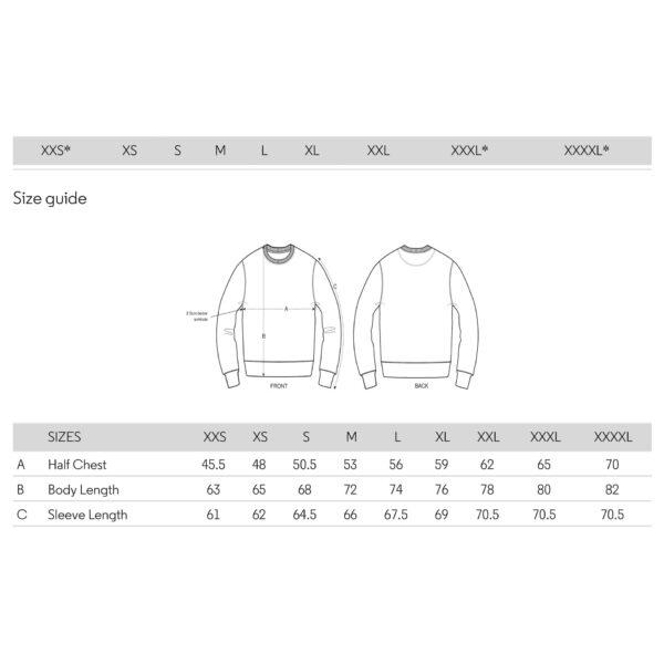 RDAM® Sweater Volwassenmaten