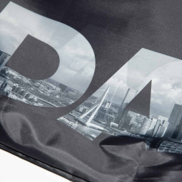 RPET RDAM® tas met Rotterdam skyline opdruk