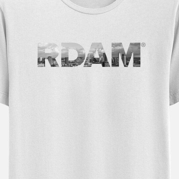 RDAM® T-Shirt Wit met de Skyline erop