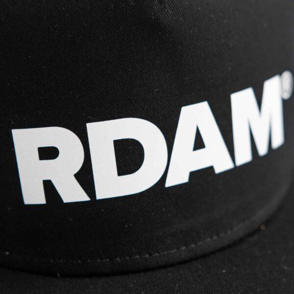 RDAM® petje wit op zwart