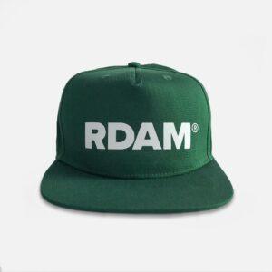 rdam flat cap groen - rdam pet