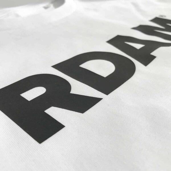 rdam shirt zwart op wit | RDAM® t-shirt | Rotterdam kleding
