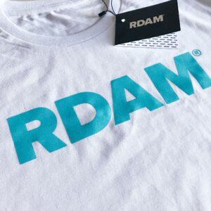 RDAM® Ice Blue Flock Editie met RDAM letters