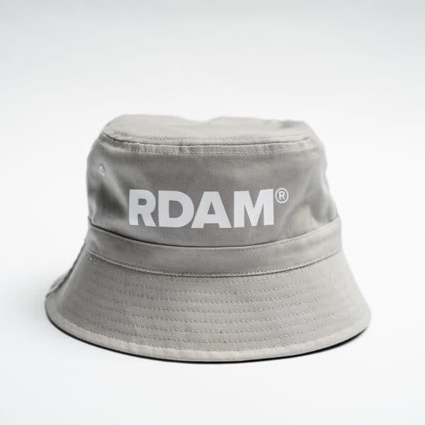 rdam rotterdam bucket hat grijs