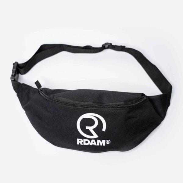 rdam heuptas waist bag bumbag zwart