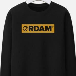 rdam sweater flock outline yellow